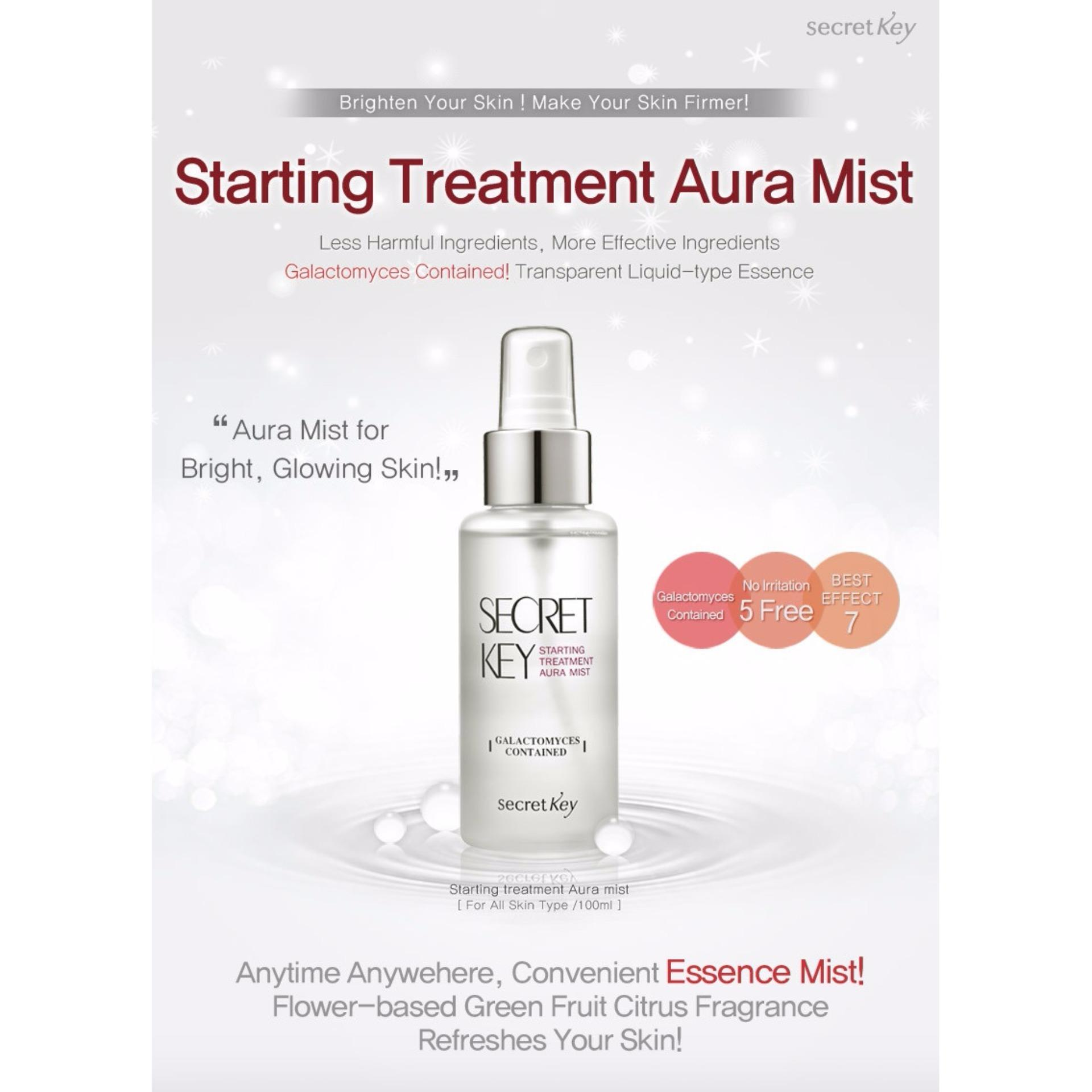 Harga Secret Key Starting Treatment Aura Mist 100 Ml Dan Spesifikasinya