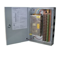 Secure 20A Power Supply Adaptor Cctv Panel Box 12V 18Ch Terbaru