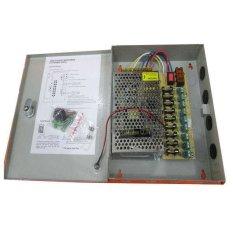 Toko Secure Power Supply Adaptor Cctv Panel Box 12V 10A 9Ch North Sumatra
