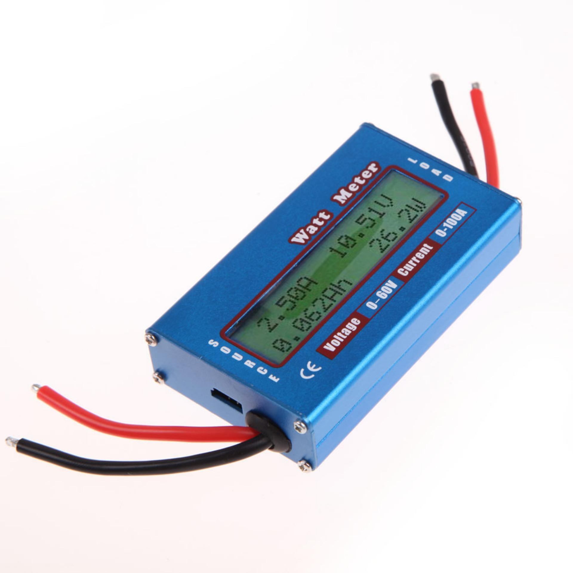 Beli Sederhana Dc Power Analyzer Watt Volt Amp Meter 12 V 24 V Solar Wind Analyzer Intl Intl Lengkap