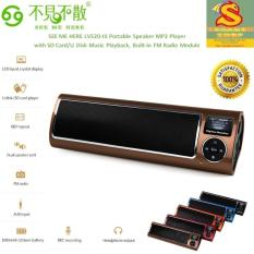 Review See Me Here Lv520 Iii Portable Speaker Mp3 Player With Sd Card U Disk Music Playback Built In Fm Radio Module