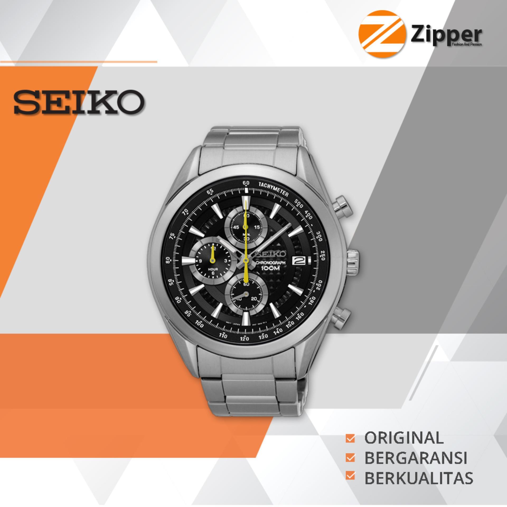 Jual Seiko Chronograph Jam Tangan Pria Tali Stainless Steel Ssb175P1 Seiko Online