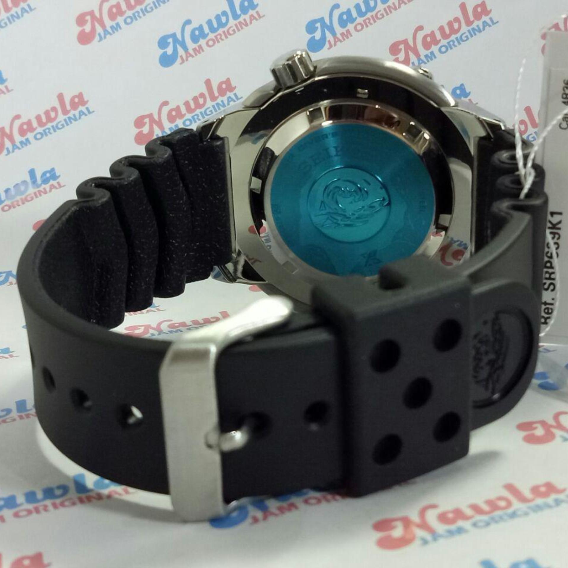 Review Pada Seiko Prospex Srp639K1 Automatic Divers Black Rubber Jam Tangan Pria Srp639