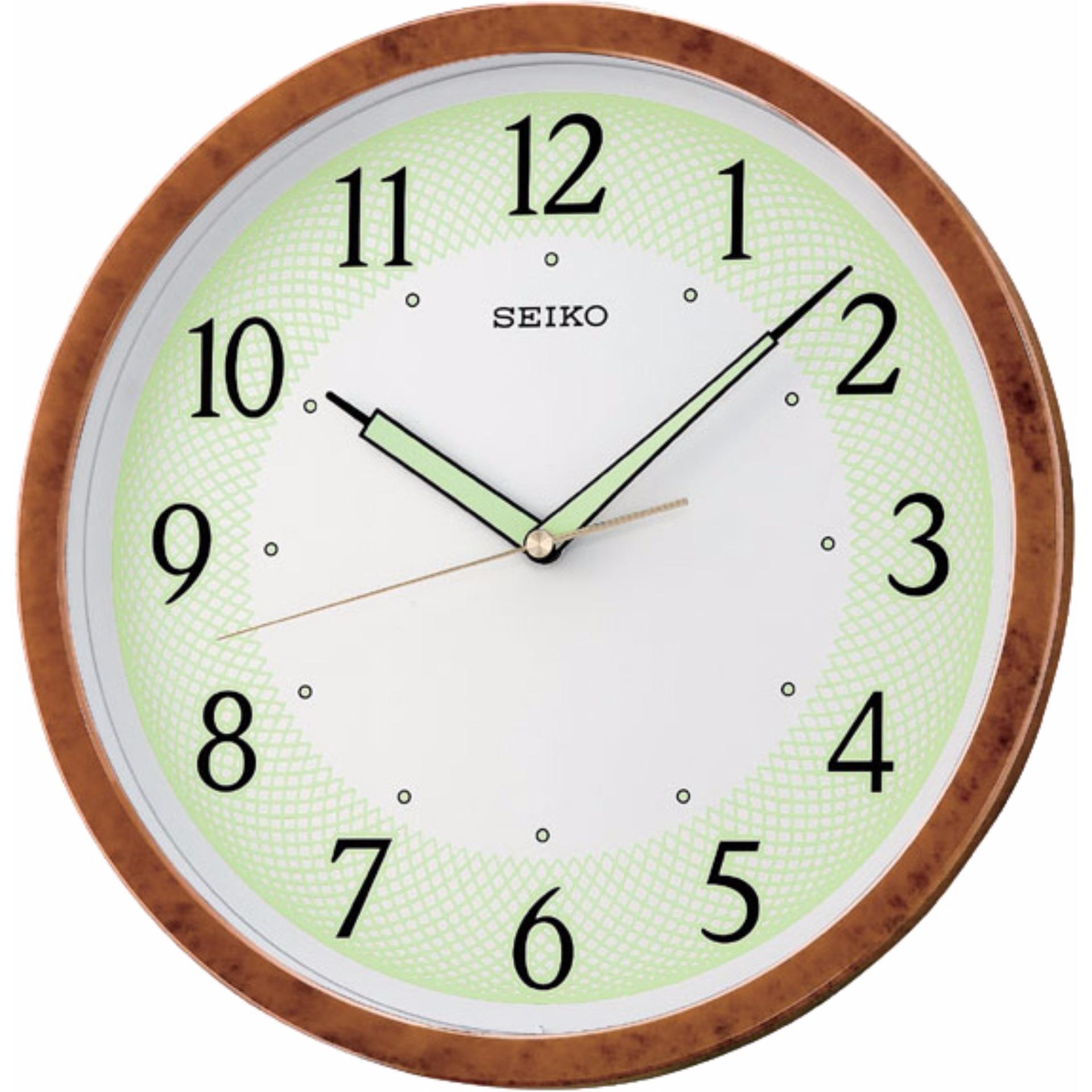 Toko Seiko Qxa472B Jam Dinding 31 1Cm Luminous Wall Clock Online Terpercaya