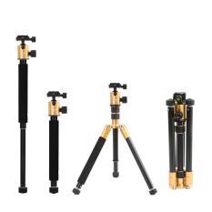 Beli Selens 157 48 Cm T 170 Tumpuan Kaki Tiga Dan Monopod Bola Dengan Kepala For Dslr Kamera Emas Baru