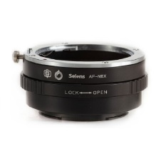 Jual Selens Logam Cincin Adaptor Lensa For Sony Af Gunung For Sony Nex 6 Nex 7 Nex 5 Malam Kamera Selens Asli