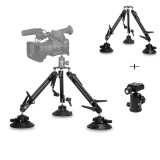 Jual Selena Video Camera Outdoor Car Window Suction Cup 1 4 Mount Stabilizer Tripod Intl Oem Branded