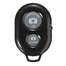 Timer otomatis Remote rana kamera kontroler Bluetooth untuk IOS iPhone Samsung HTC (hitam)