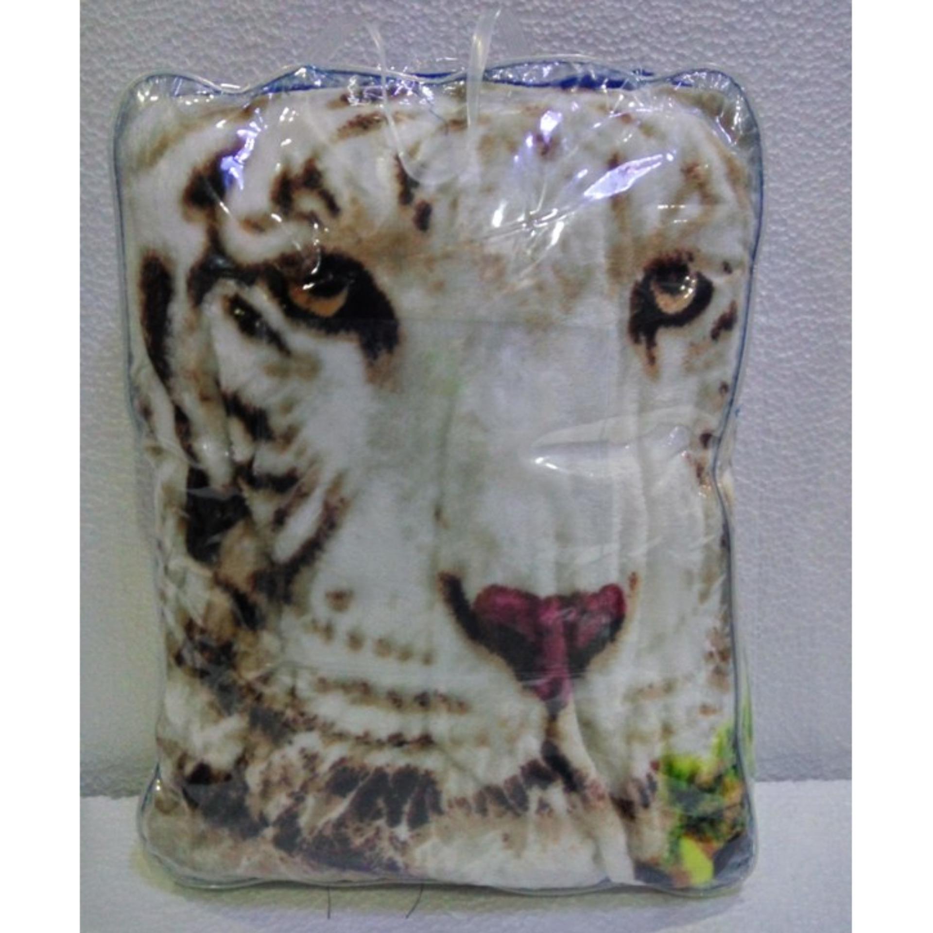 Jual Selimut Super Lembut Dan Tebal Merk Bonita 3D New White Tiger Uk 160X200 Cm Di Bawah Harga