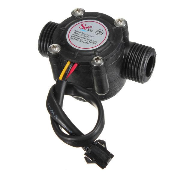 Beli Sensor Aliran Air Flowmeter Hall Sensor Aliran Kontrol Air Yang Bagus