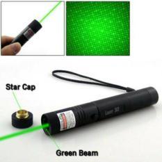 Penawaran Istimewa Senter Green Laser Pointer Recharge 303 10Km 1 Mata Hijau Terjauh Terbaru