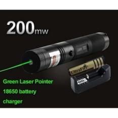 Toko Senter Laser Pointer Recharge Green Sinar Laser Hijau Dekat Sini