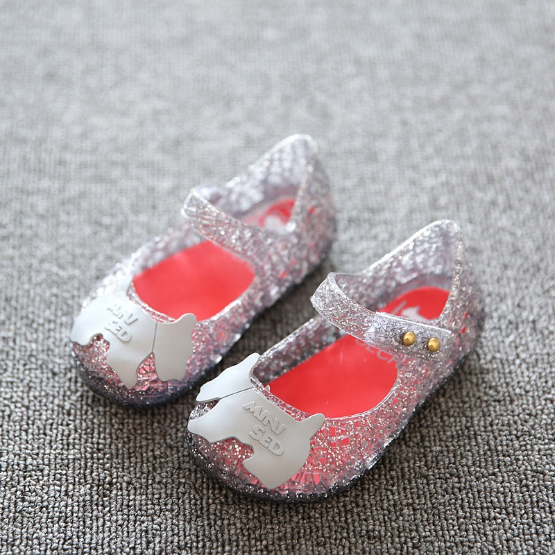 Sepatu Anak-anak Gadis Sandal Rain Boot Bayi Summer Jelly Kartun Balita