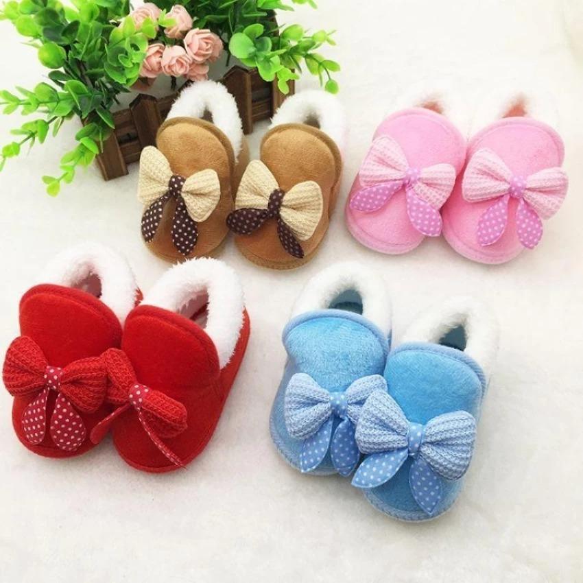 Sepatu Anak Bayi Perempuan 0-18 Bulan  PINK
