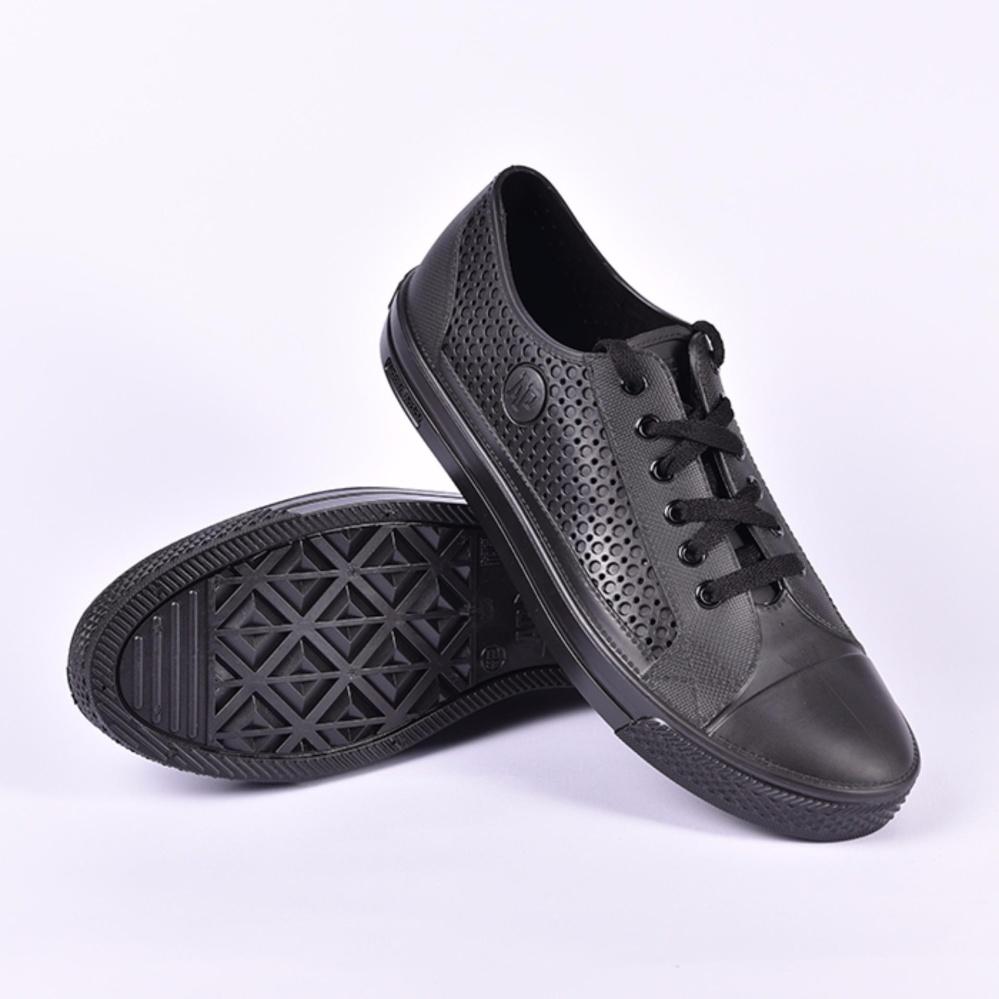 Spesifikasi Sepatu Apstar Ap Star By Ap Boots Karet Pvc Casual Sepatu Sneakers Kets Sekolah Touring Trail Cross Waterproof Full Black Murah Berkualitas