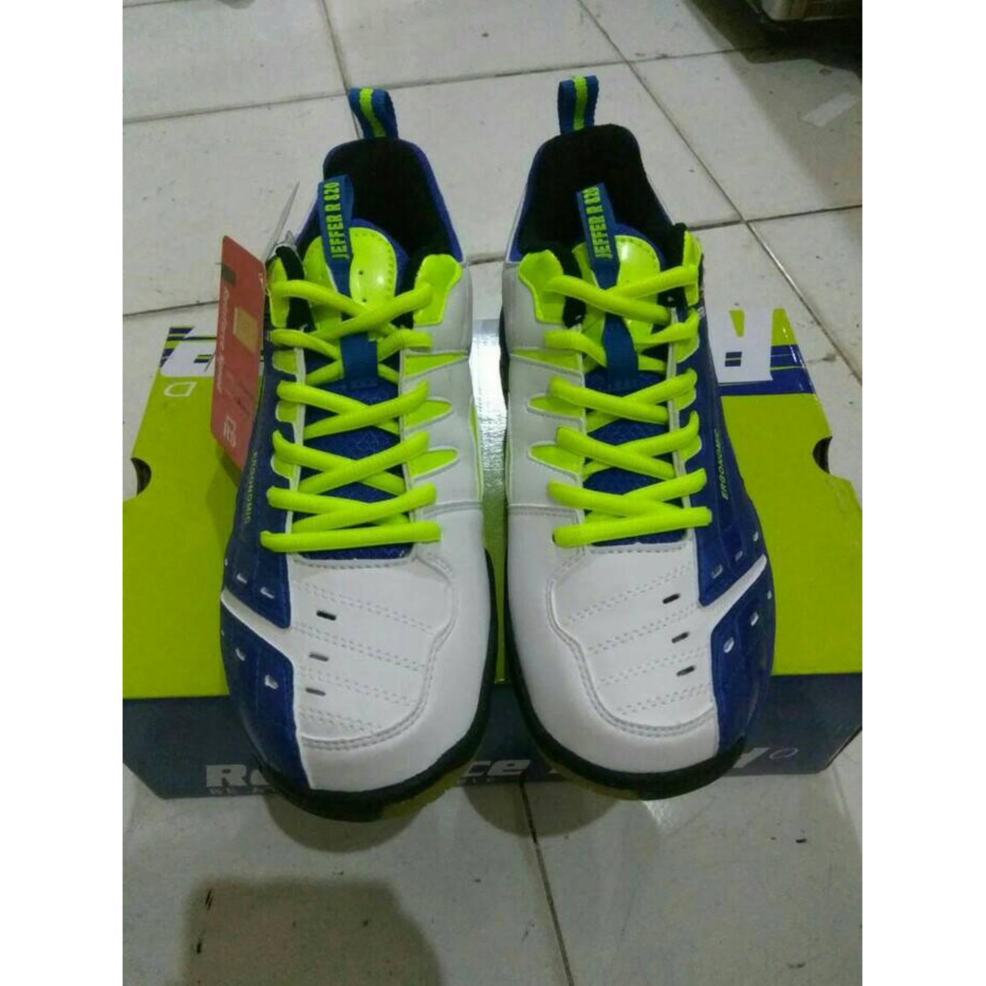 Sepatu Badminton RS JF 820 Blue/White (Original)
