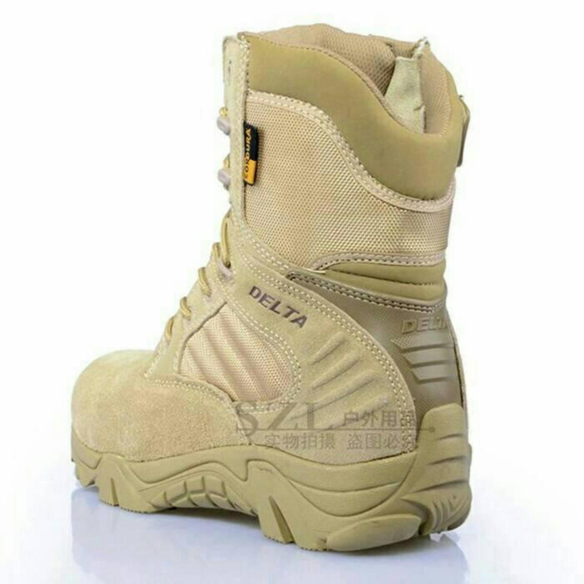 Sepatu Boot Hiking Delta High 8inch Quality Outdoor - Gurun