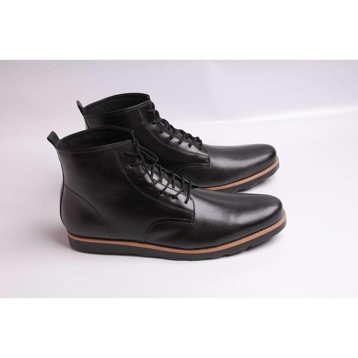 Sepatu Boot Kantor Pria Boston Sparta (Brodo/Redwing/Docmart/Bally) - 6Yvieh