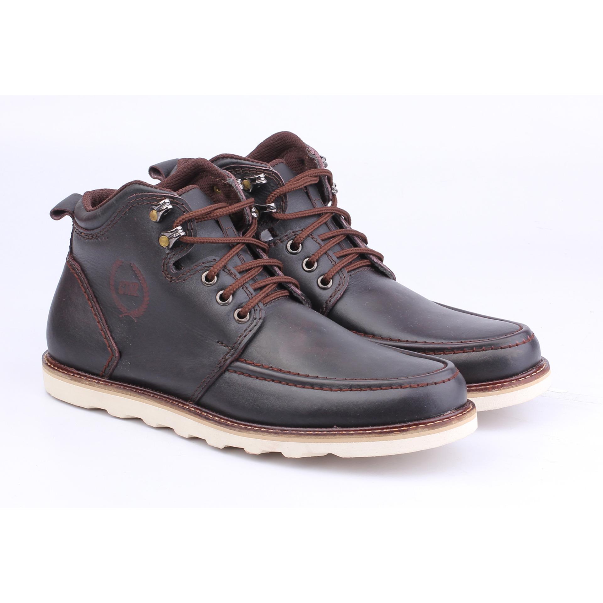 Sepatu Boots Pria Catenzo MP 009 Coklat Kulit