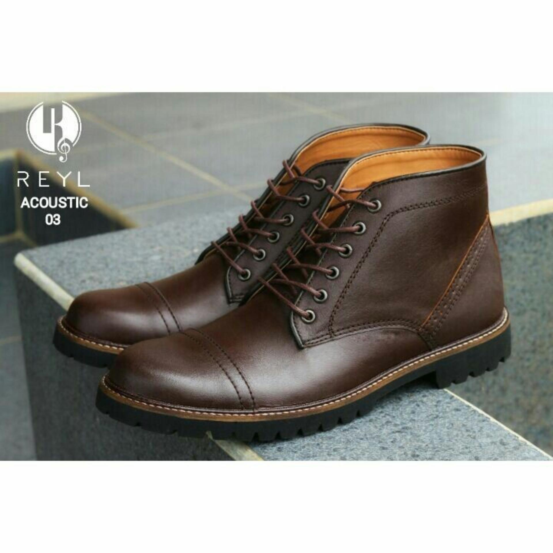 Sepatu Boots Reyl Accoustic Safety Reyl Diskon 40