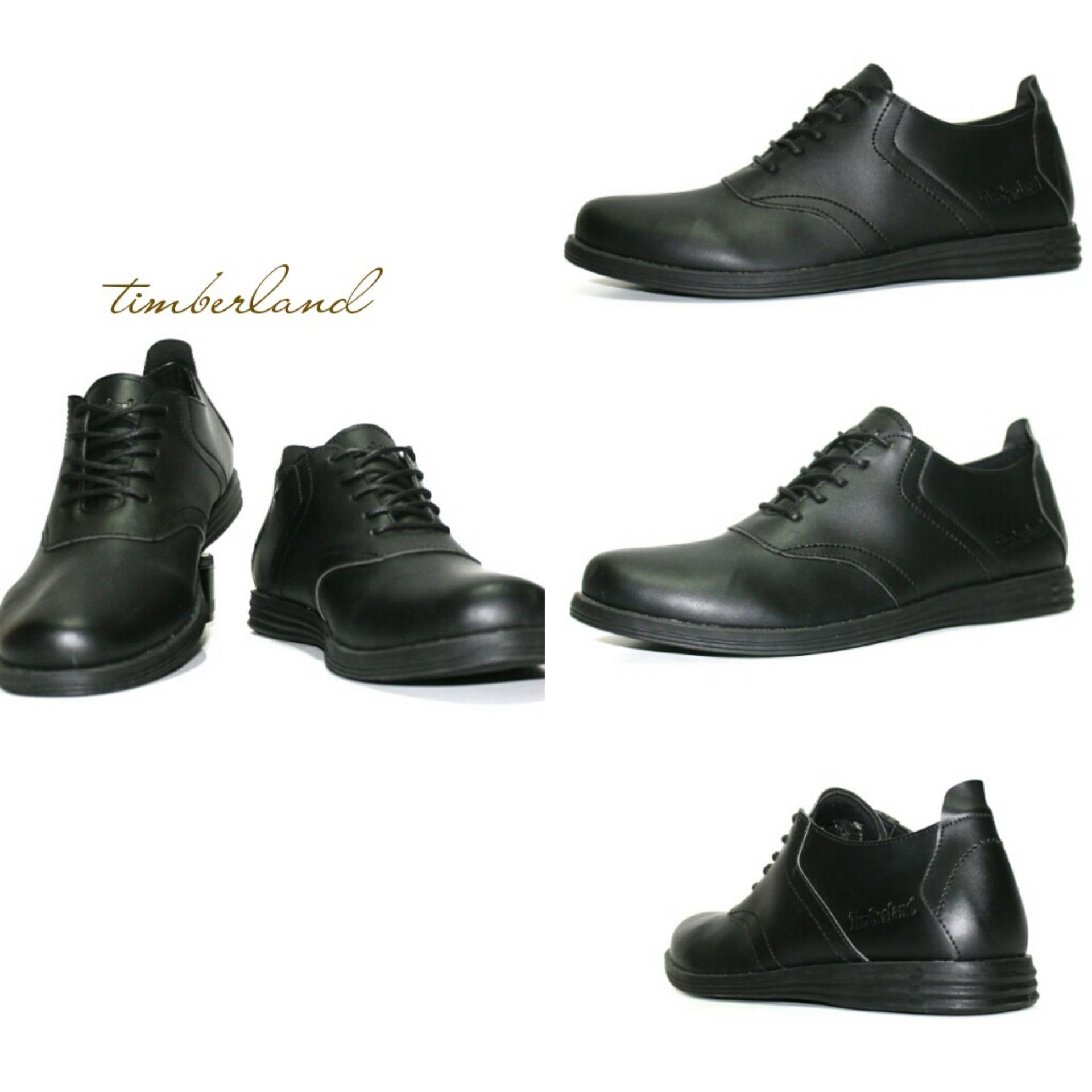 Jual Sepatu Casual Formal Men S Timber Full Black Timberland Asli