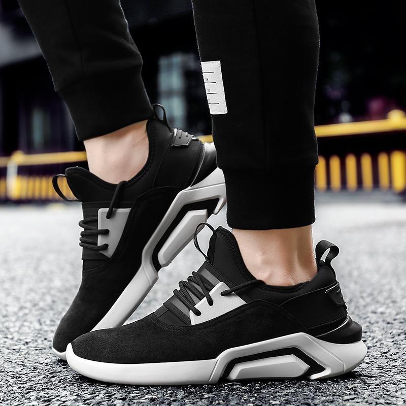 Beli Sepatu Casual Pria Baru Wave Sepatu Retro Laki Laki S Sepatu Korea Fashion Sepatu Sepatu Olahraga Intl Cicilan