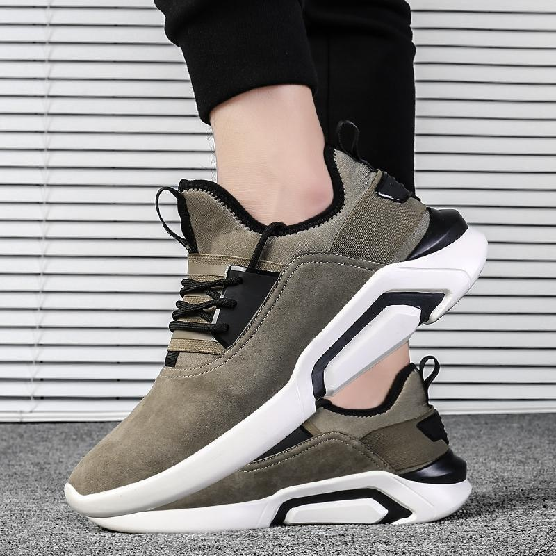 Beli Sepatu Casual Pria Baru Wave Sepatu Retro Laki Laki S Sepatu Korea Fashion Sepatu Sepatu Olahraga Intl Pakai Kartu Kredit
