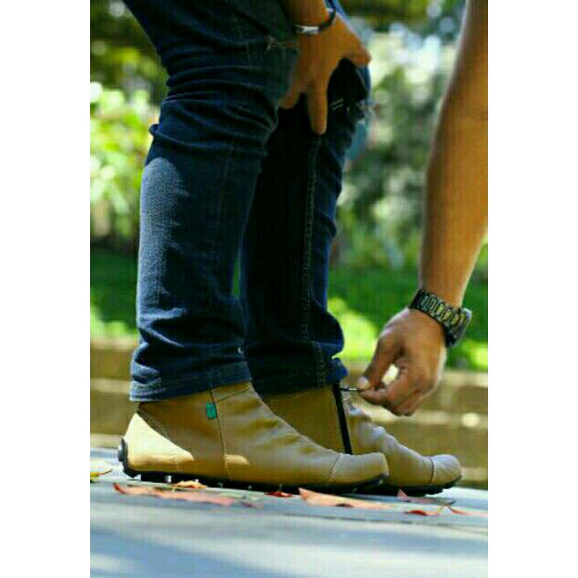 ... Pereda Nyeri Kaki Depan Metatarsal Source · Salvo Sepatu pria denim sepatu pria kasual SC Biru Sepatu Casual Sneakers Kickers Zipper Boots