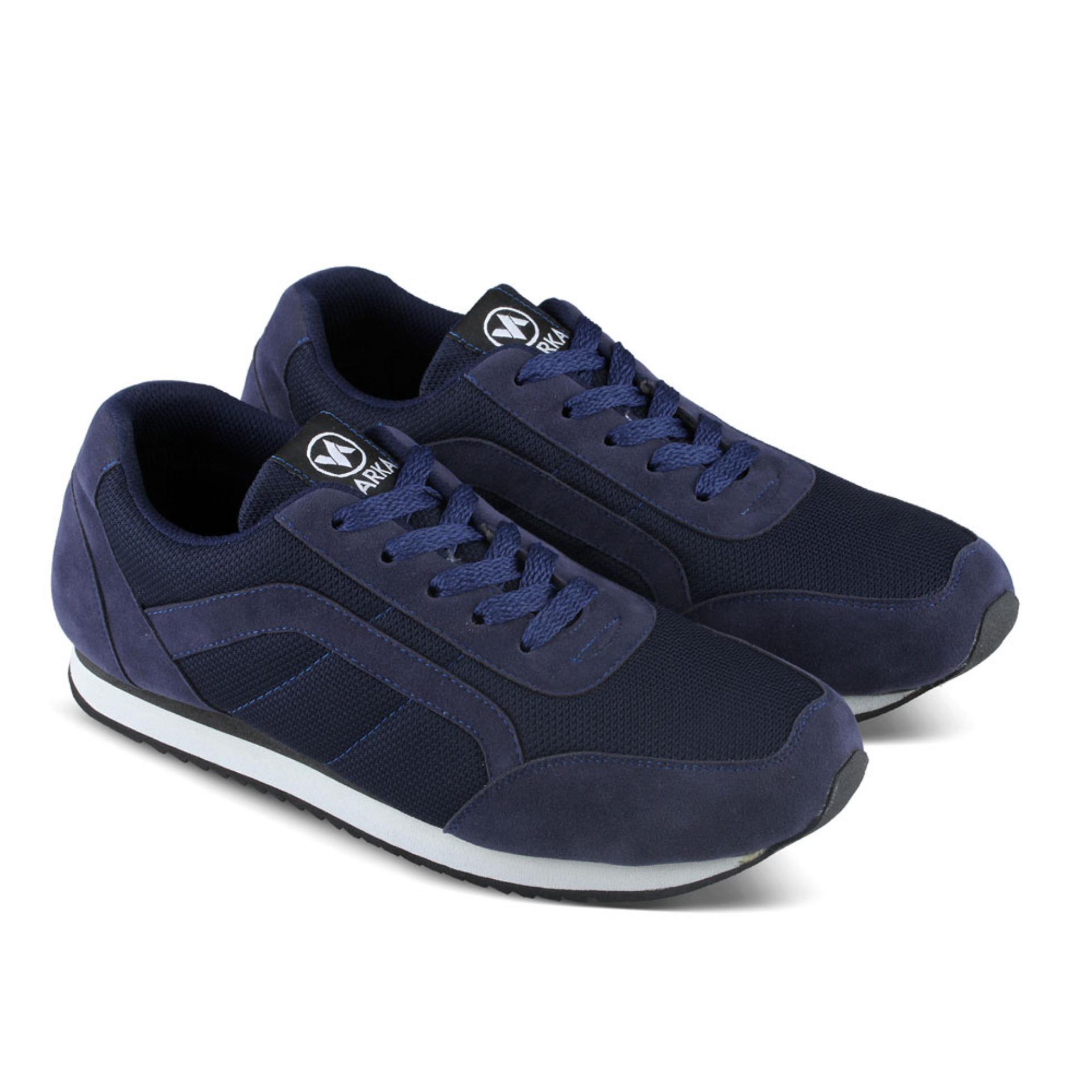 Sepatu DB 477 Sepatu Sneakers Kasual Pria utk jalan, santai, olahraga lari joging, kuliah, sekolah, kerja - Navy