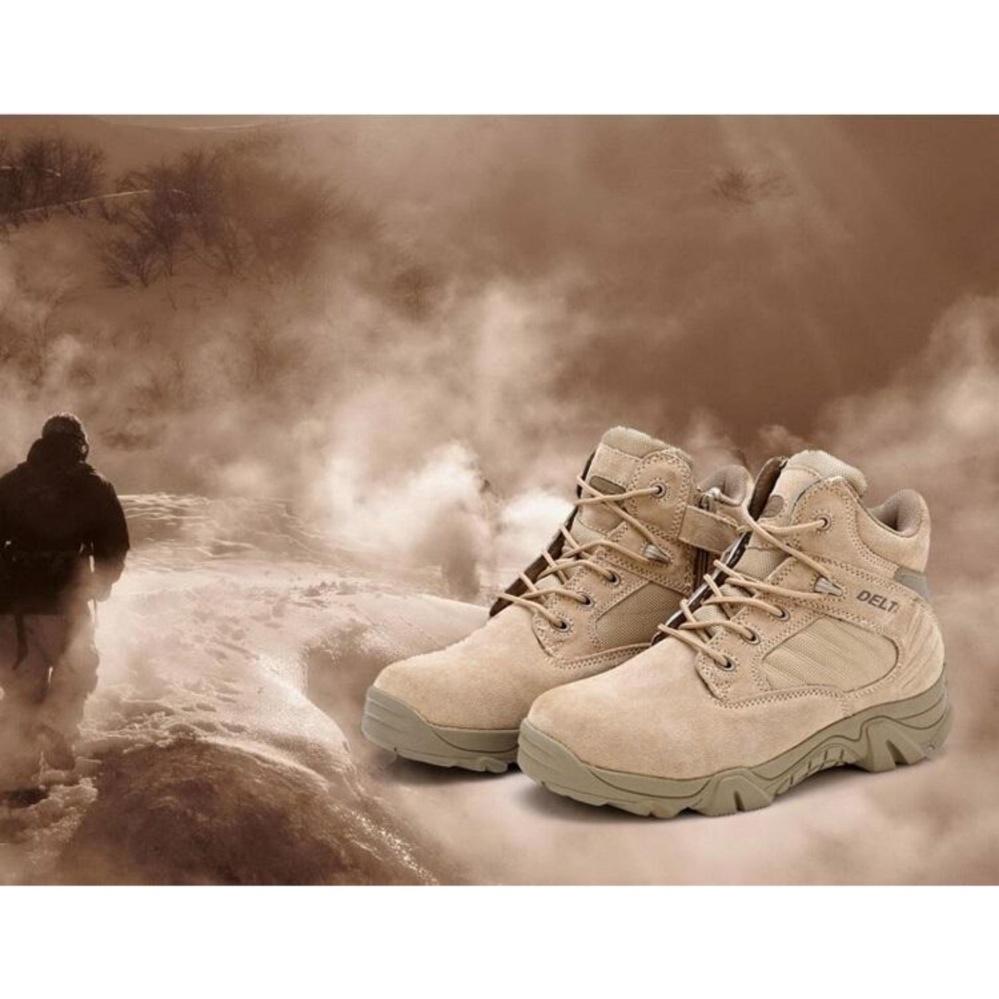 Beli Sepatu Delta Cordura Tactical Boots Tan 6 Inch Online
