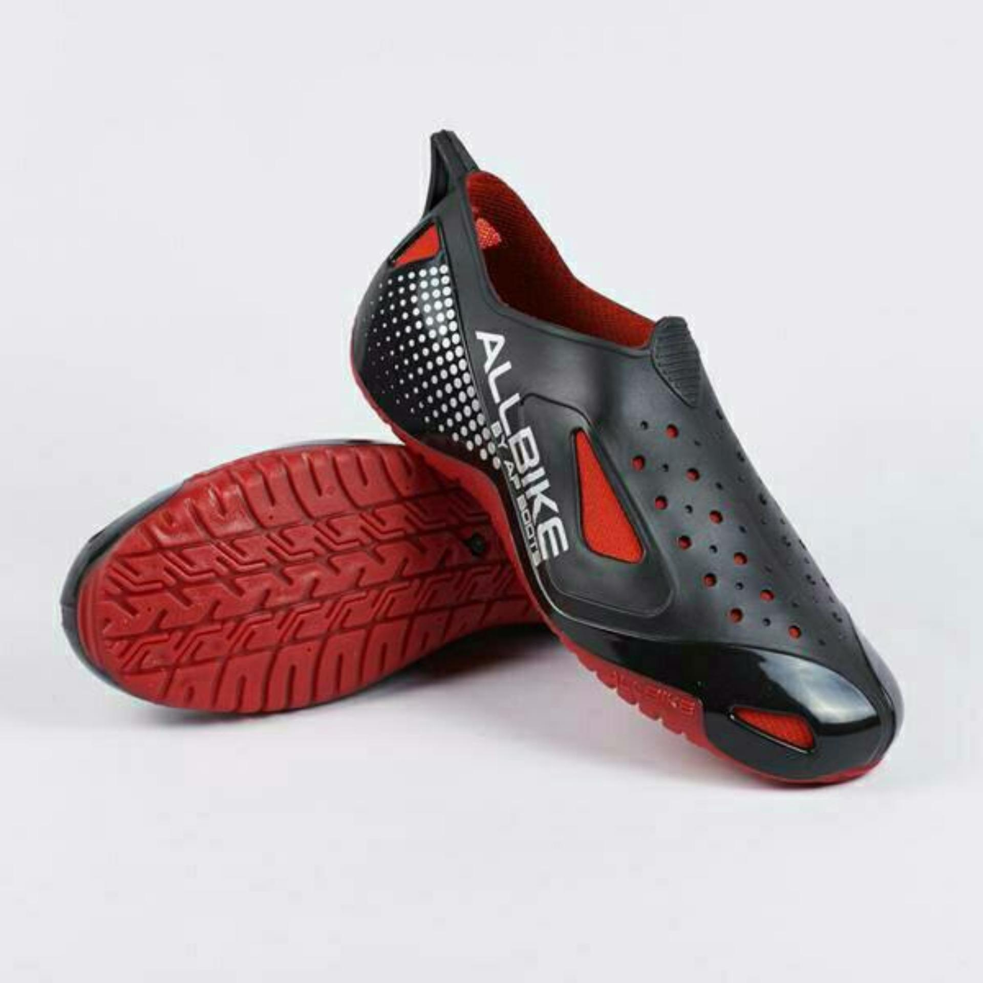 Sepatu Karet Allbike MERAH By ApBoots All Bike RED Shoes Bikes Ap Boots  Boot Bikers Murah c8a8e90059