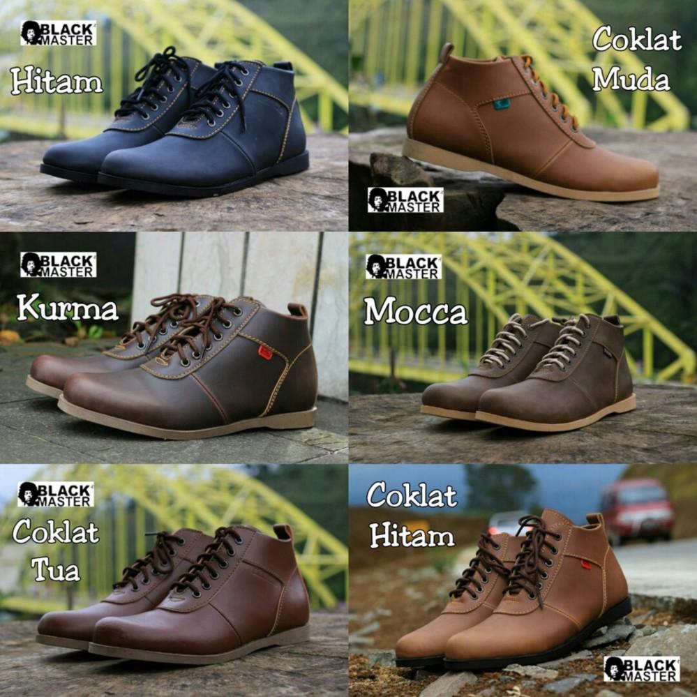 Sepatu Kerja Black Master New Brodo TG Original Murah - Sneakers - Santai - Ngantor - Formal