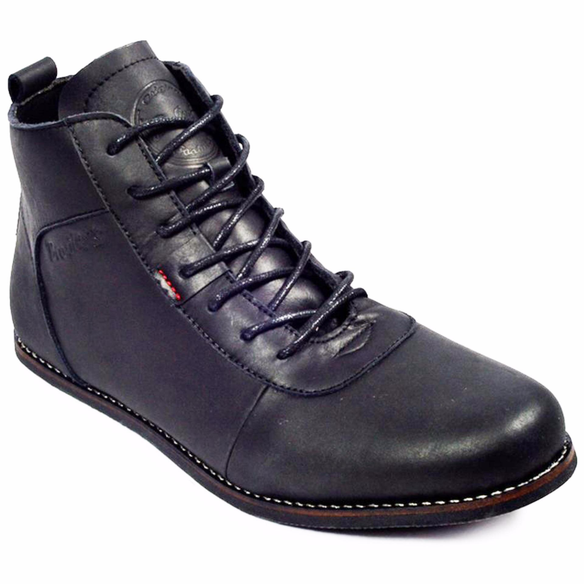Sepatu Kulit Pria Bradleys Aerudite / Sepatu Kulit Boots / Sepatu Pria Keren Termurah Sekelas Brodo