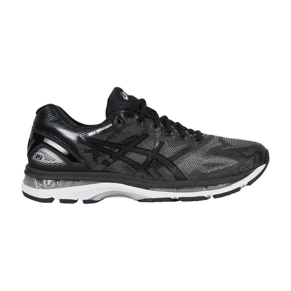 Sepatu Lari/ Running Asics Gel Nimbus 19 Hitam - T700N.9099