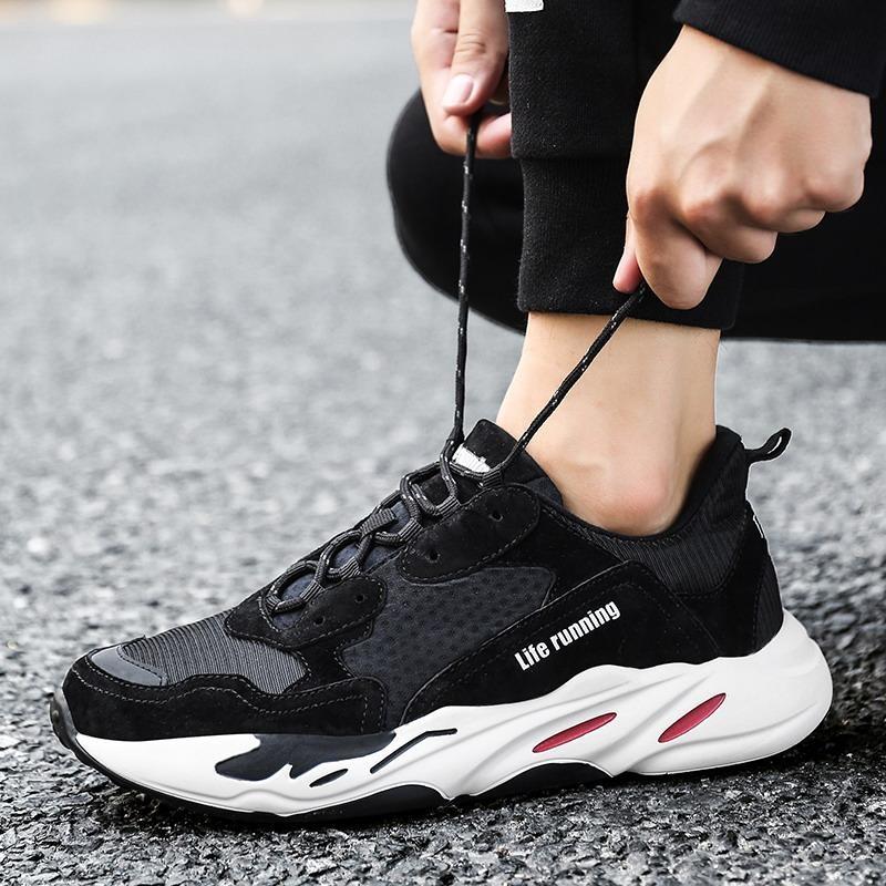 Sepatu Olahraga Sepatu Pria Jatuh Wanita Sepatu Meningkatkan Sepatu Sepatu Tren Pemuda Korea Breathable Running Shoes Intl Oem Diskon 30