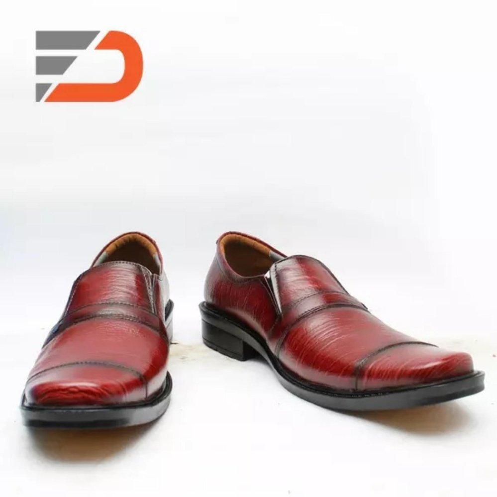 Spesifikasi Sepatu Pantofel Kulit Sapi Asli Mh 108 Dcollection Terbaru