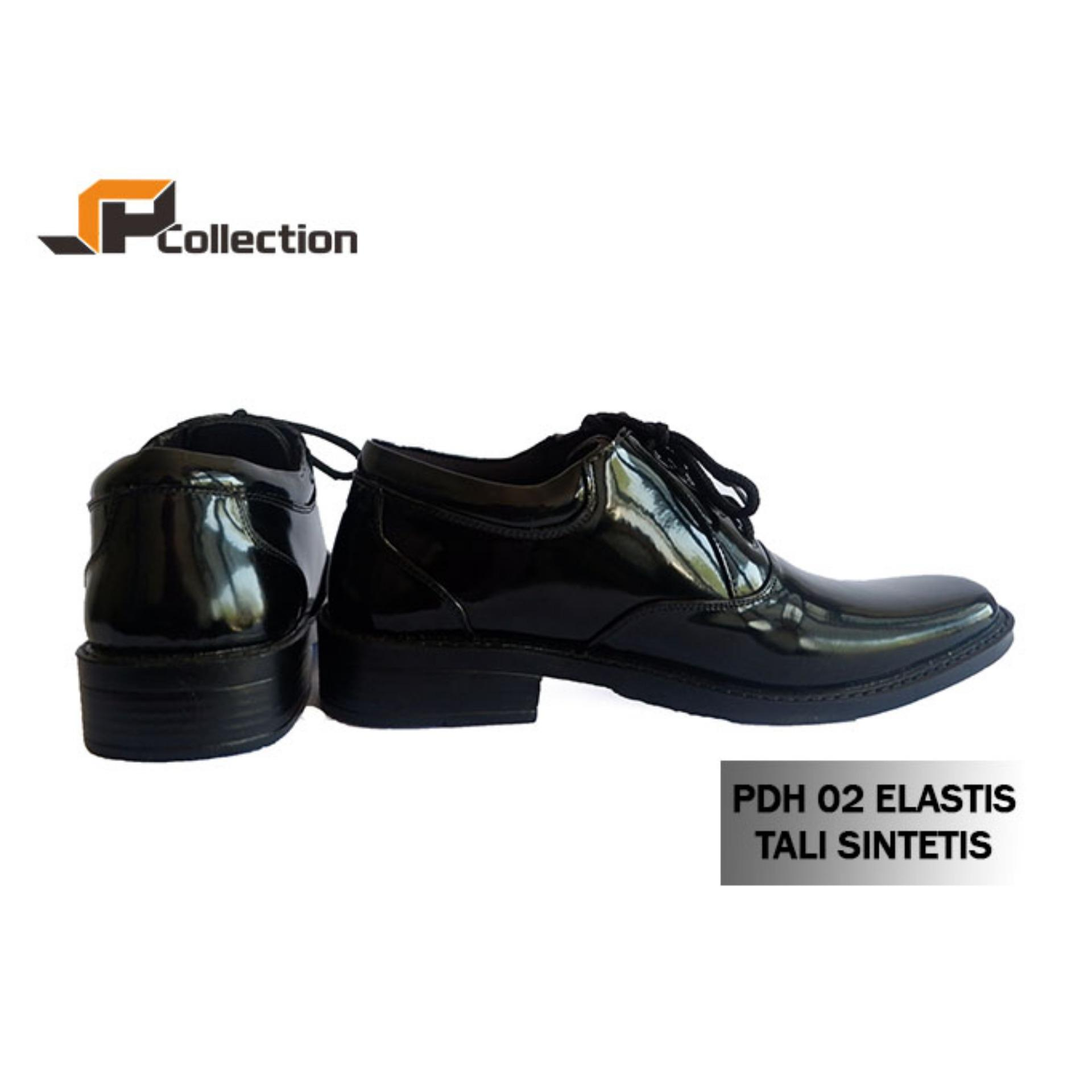 Toko Sepatu Pantofel Pdh 02 Elastis Tali Sintetis Kilap Untuk Sepatu Kerja Murah Jawa Tengah
