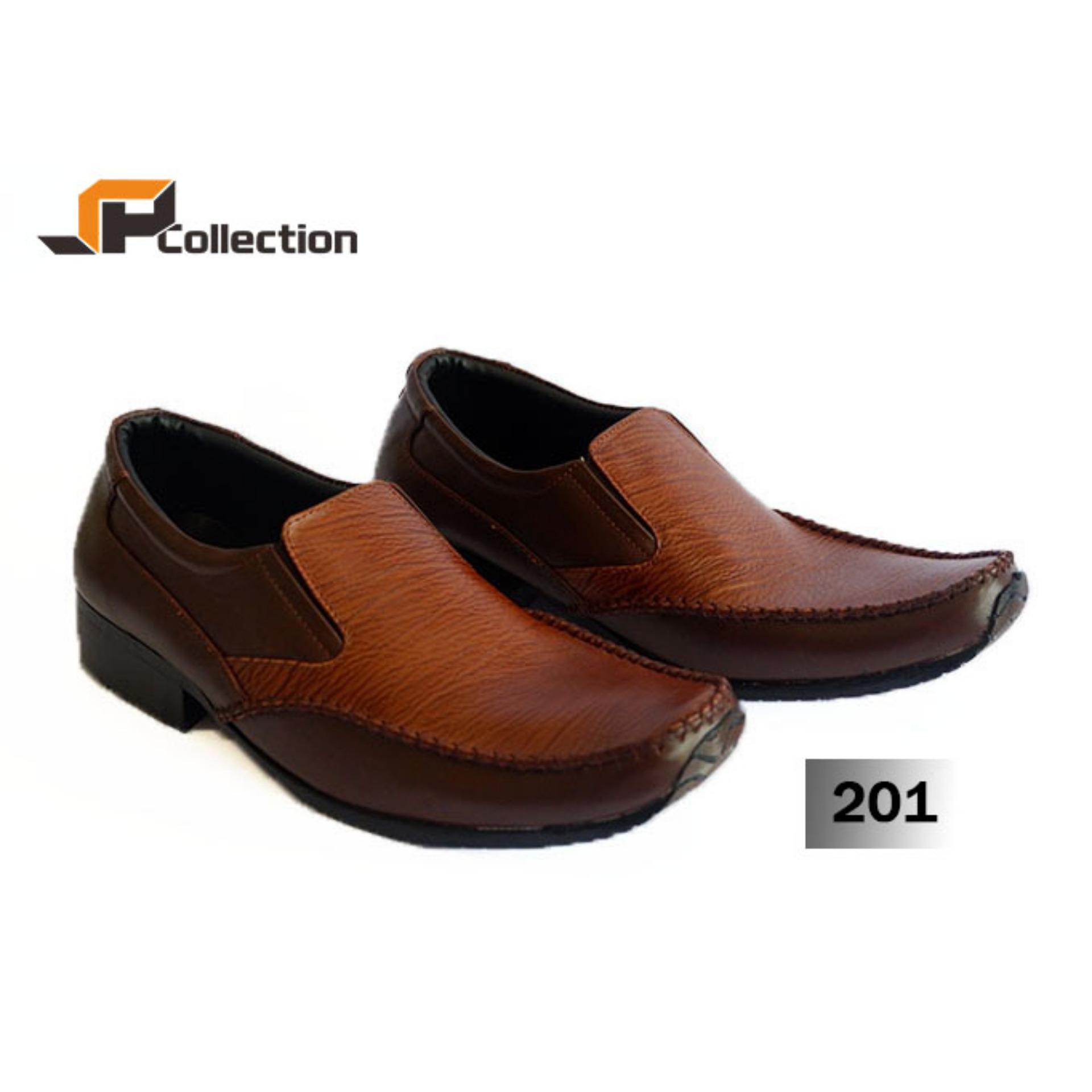 Toko Sepatu Pantofel Pdh 201 Merk Spatoo Warna Tan Sol Iris Elegan Bahan Kulit Sapi Asli Untuk Kerja Ke Kantor Tersedia Big Size Jawa Timur