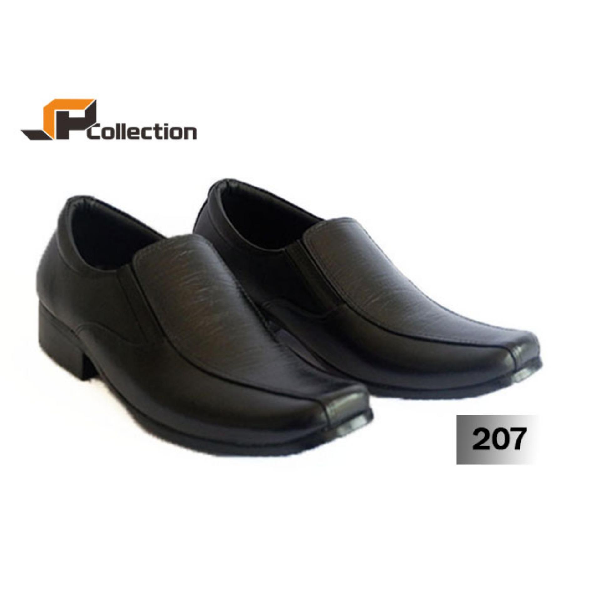 Review Terbaik Sepatu Pdh Sp 207 Uk 39 45 Bahan Kulit Sapi Asli Berkualitas