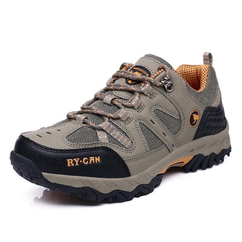 Promo Sepatu Pria Outdoor Hiking Sepatu Pakaian Anti Selip Tahan Alas Kaki Sepatu Sepatu Breathable Baru Intl Oem Terbaru