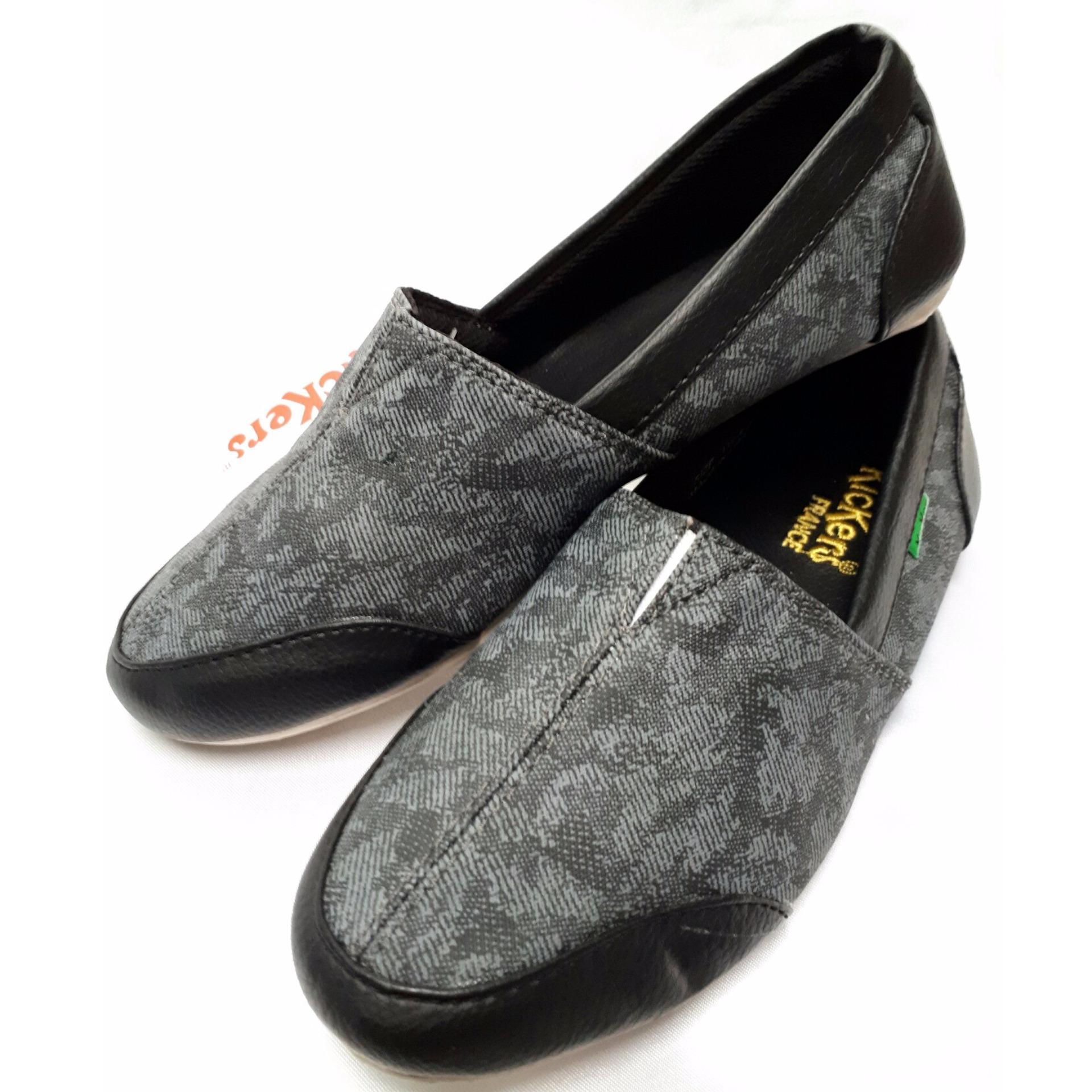 Spesifikasi Sepatu Santai Slip On Kickers Yg Baik