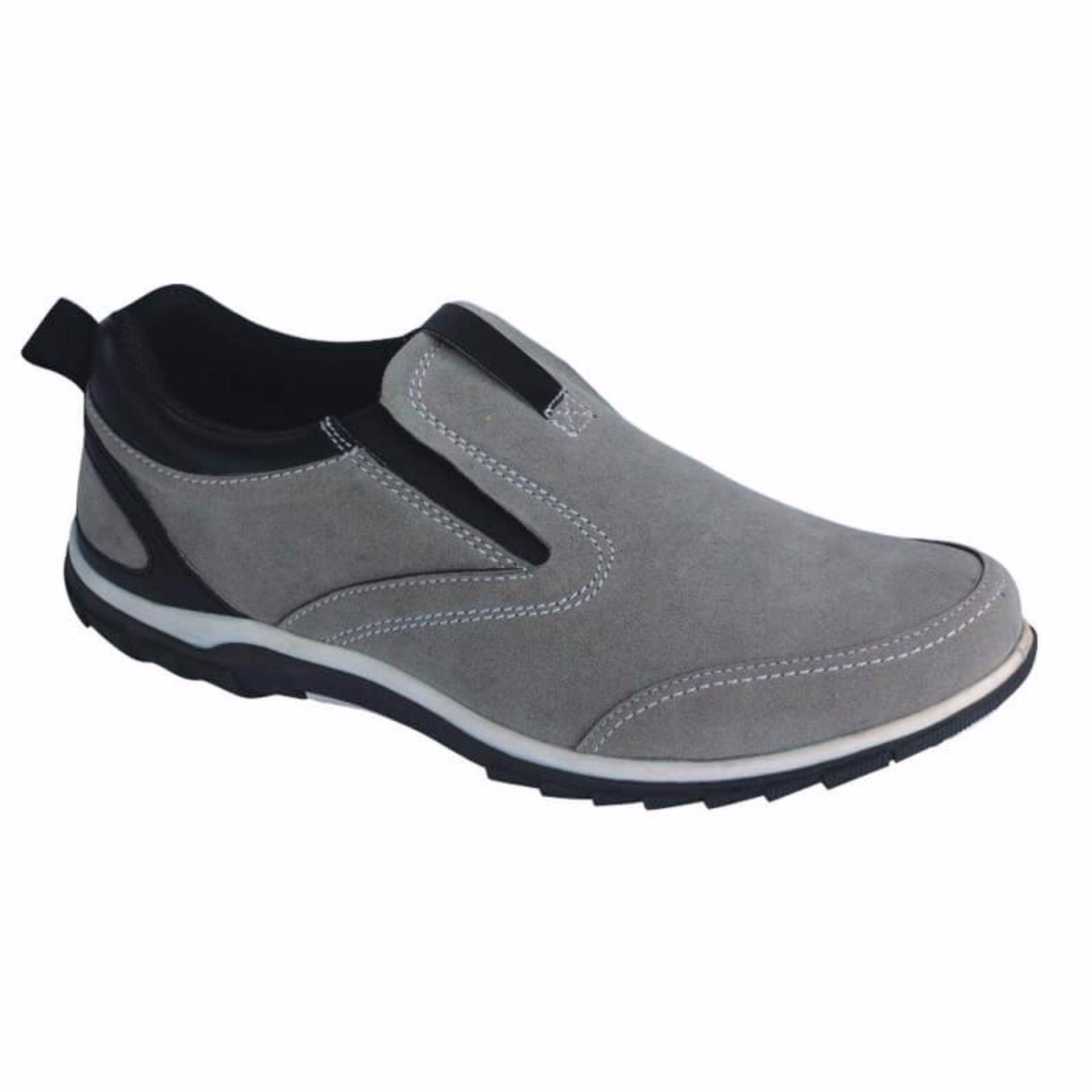 Miliki Segera Sepatu Slip On Sneakers Casual Pria Sd 008
