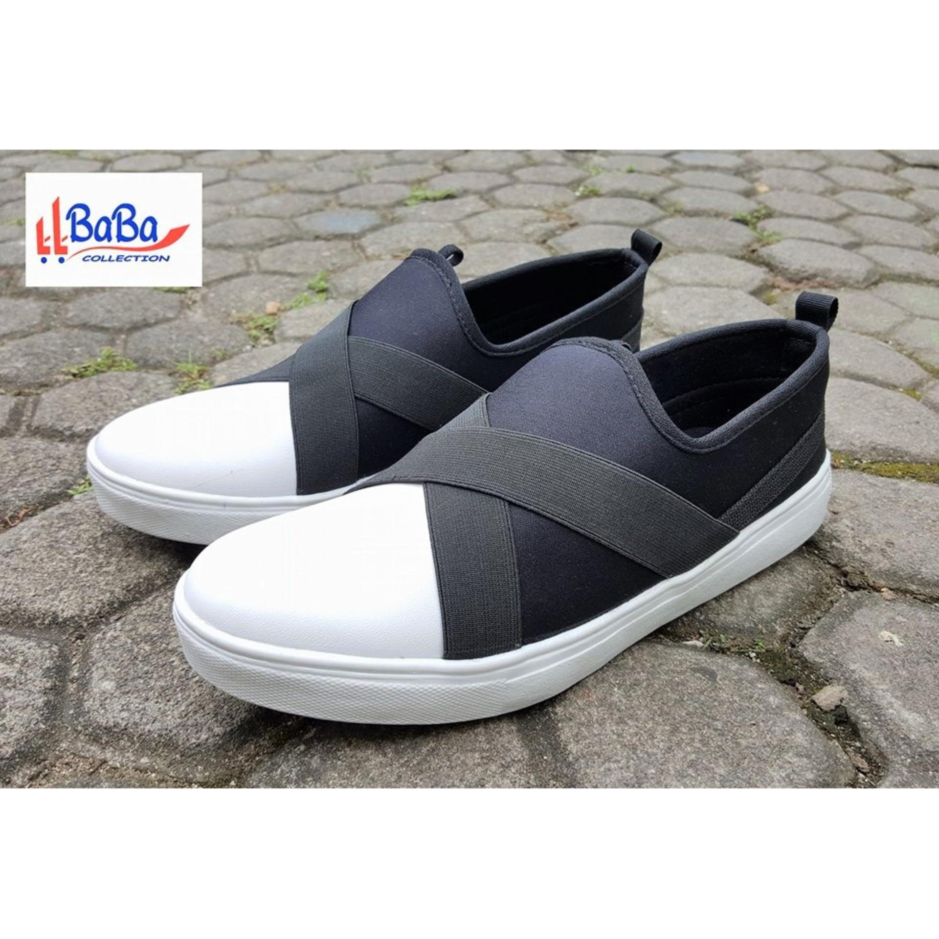 Beli Sepatu Sneakers Wanita Kets Casual Trendy Baba Collection Dengan Harga Terjangkau