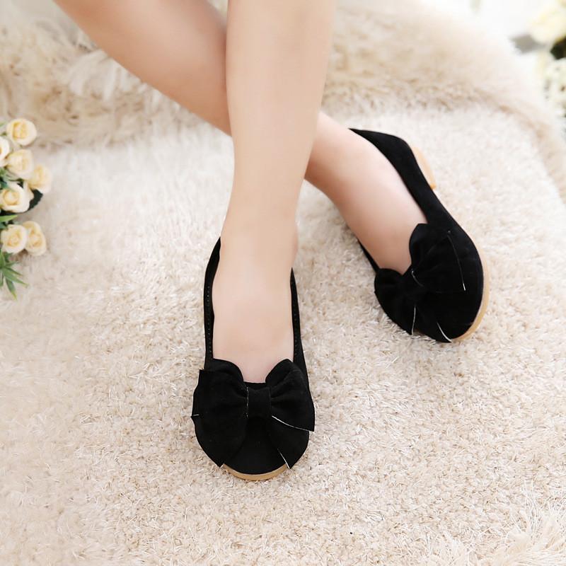 Jual Sepatu Sol Datar Children With Ikatan Pita Sepatu Branded Original