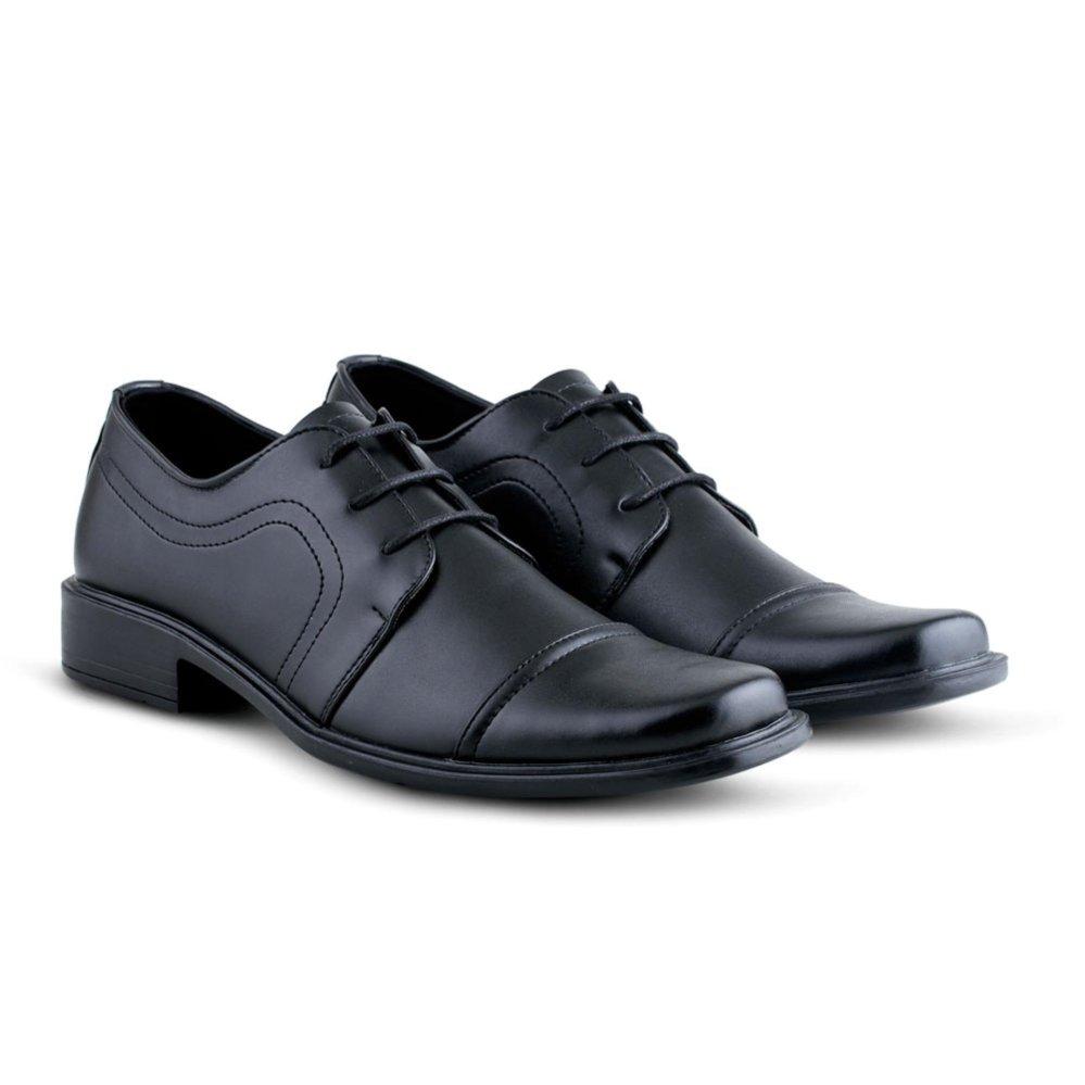 Sepatu Vd 374 Sepatu Formal Pria Untuk Kerja Kantor Kulit Sintetis Hitam Varka Diskon 50