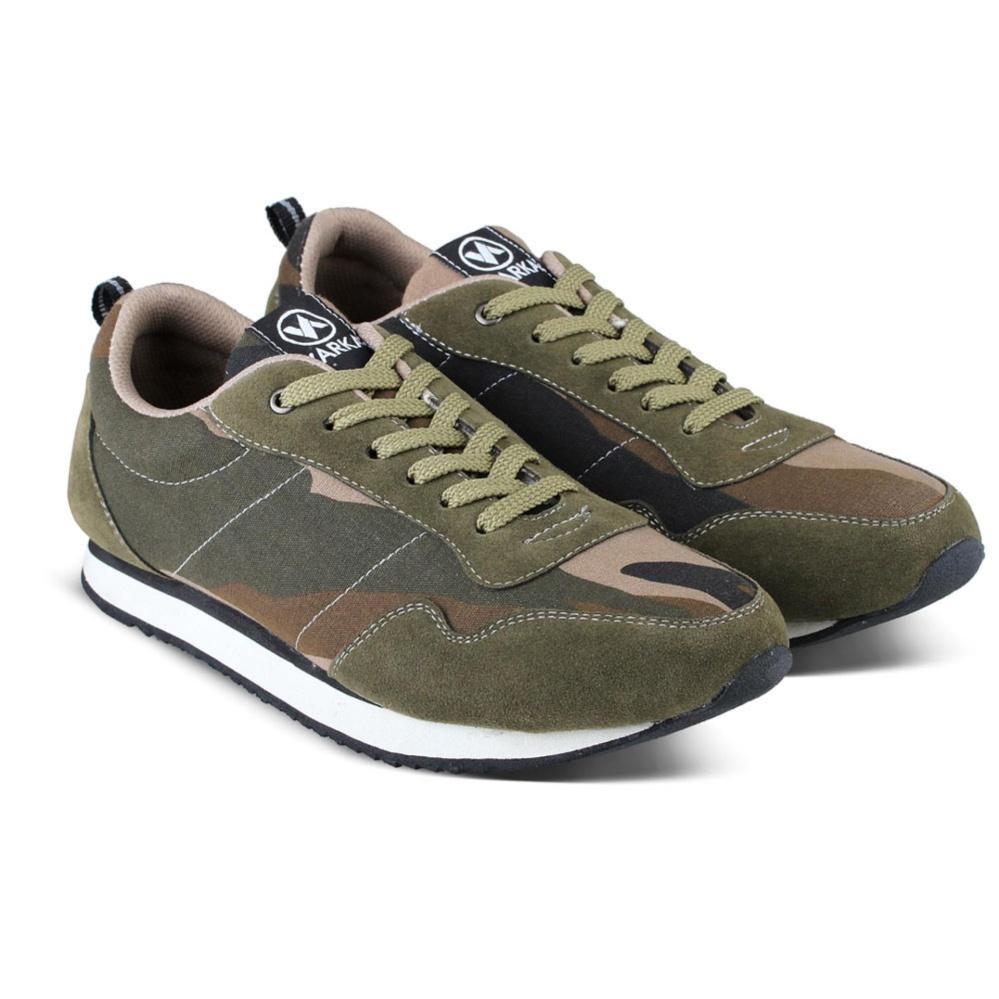 Jual Sepatu Vdb 468 Sepatu Sneaker Kets Dan Kasual Pria Utk Olahraga Joging Lari Jalan Kuliah Kerja Sekolah Army Online Di Jawa Barat