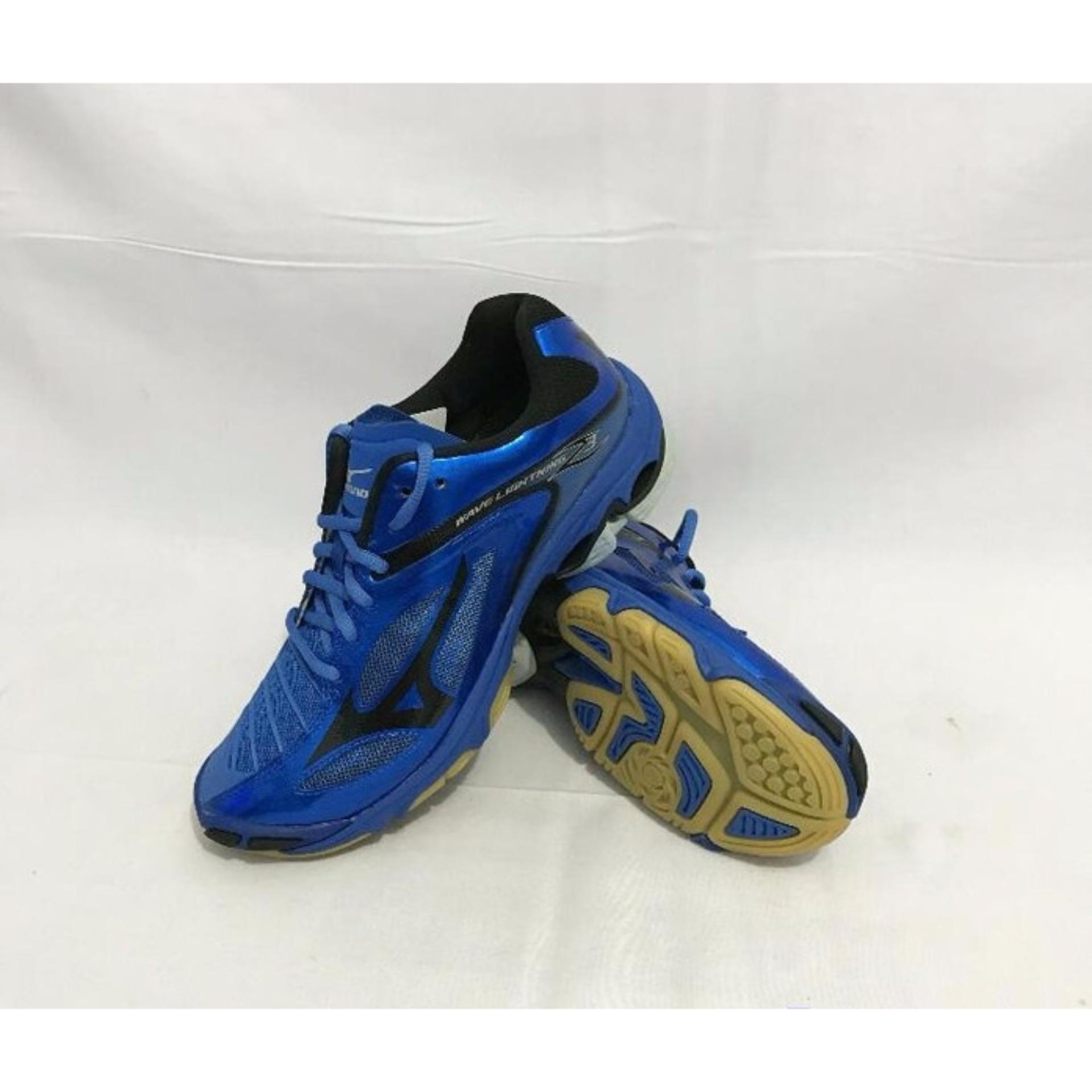 Sepatu voli Mizuno Wave Lightning Z3 - Biru Hitam