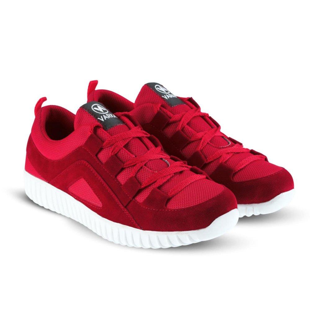 Jual Sepatu Vr 420 Sepatu Sneakers Kets Dan Kasual Pria Merah Online Di Jawa Barat