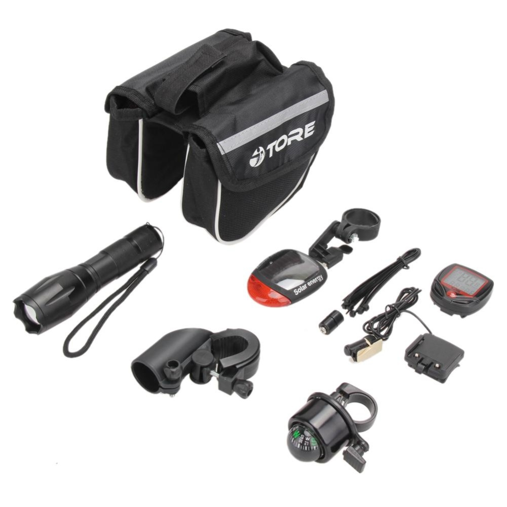Review Toko Sepeda Bersepeda Kit Senter Tail Light Stopwatch Tube Bag Bell Bracket Sjcam Intl Online