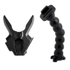 Serpentine FLEX Clamp Adjustable Leher untuk GoPro Hero 2 3 3 + 4 Aksesoris Kamera